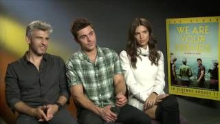 We are your Friends: Zac Efron, Emily Ratajkowski and Max Joseph at the Interview