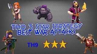 Clash of Clans Attack Strategy For th9 (GOVALK)