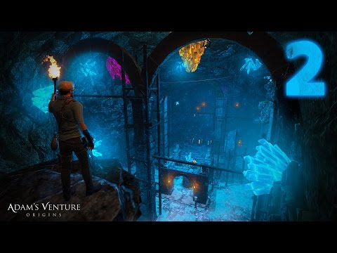 Walkthrough — Adam's Venture: Origins — Part 2 — [ 1080P 60FPS ]
