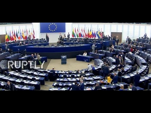 LIVE: European Parliament holds plenary session on Catalonia
