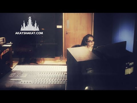 Female Music Producer - 4:13 In the Recording Studio - London