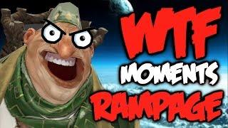 Dota 2 WTF Rampage Compilation 4