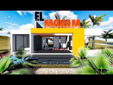 planos casa de campo moderna de lujo el mohan era parte