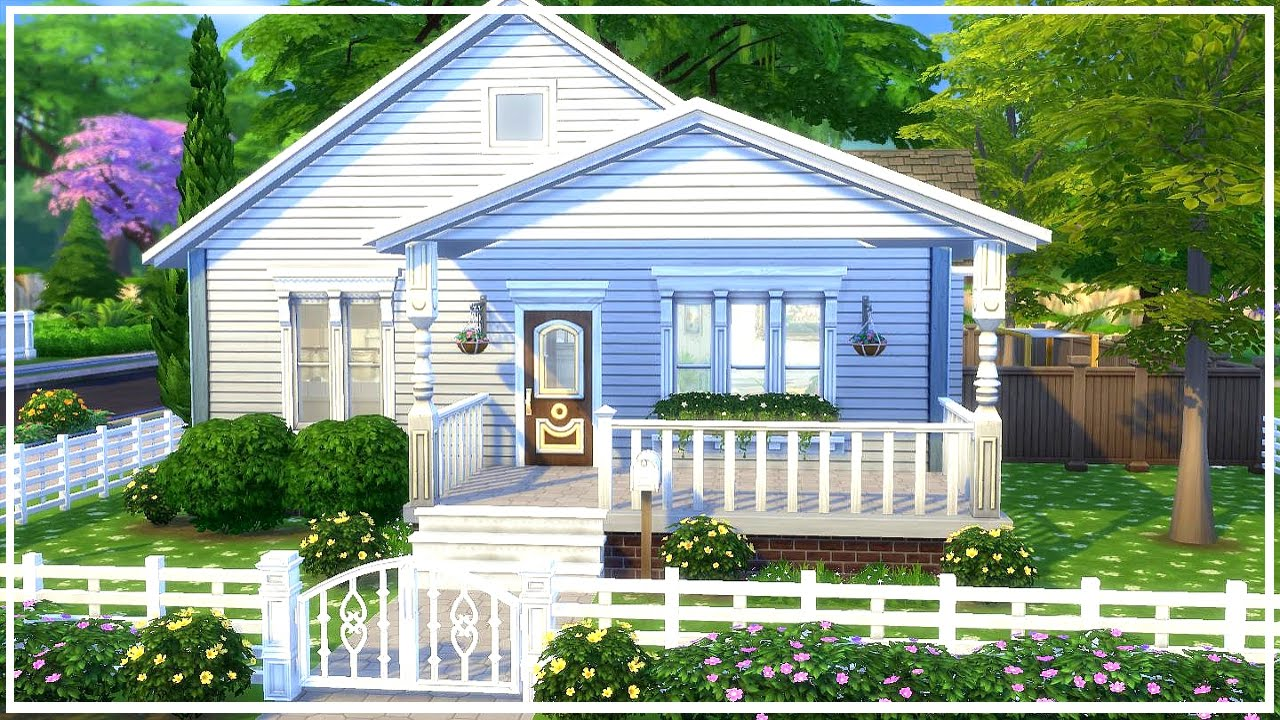 The Sims 4: Speed Build || Grandma's House - YouTube
