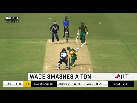Wade smacks record ton in Townsville