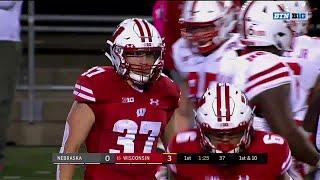 Top 3 Plays of the First Quarter: Nebraska at Wisconsin | Big Ten Football