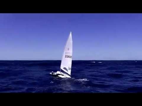 Fillah Karim - Sailing offshore outside Sydney Harbor