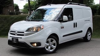2015 Ram Promaster City Tradesman SLT (Fiat Doblo) Start Up, Road Test, and In Depth Review