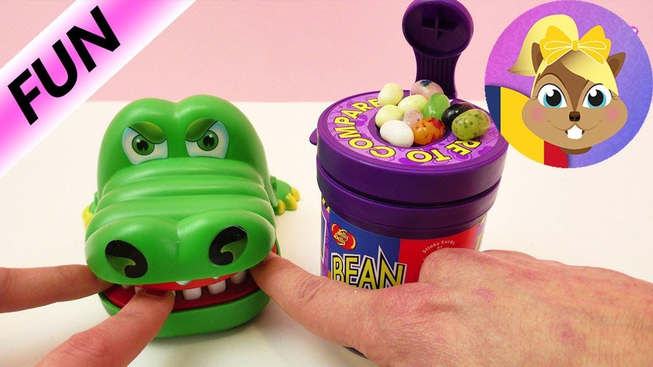 Bombonele grețoase minuscule – Provocarea cu Croco Doc – Dentistul Crocodil și bobițele cu jeleu