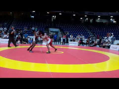 2016 Canada Cup: 97 kg Nishanpreet Randhawa (CAN) vs. Enock Francois (USA)