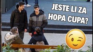 BEZ SRAMA PITALI CURE ZA HOPA CUPA! 🙈 | Magic Leon w/ Borna