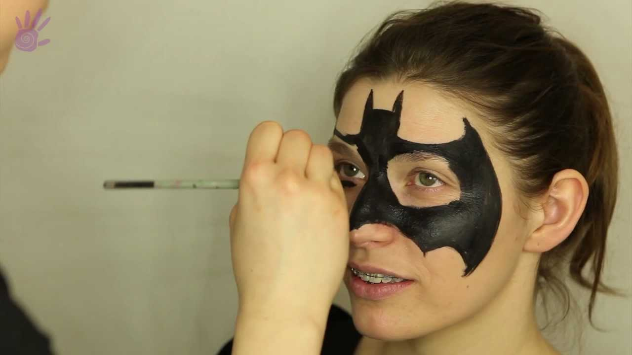 Malowanie Buziek Face Painting 2 Batman Youtube