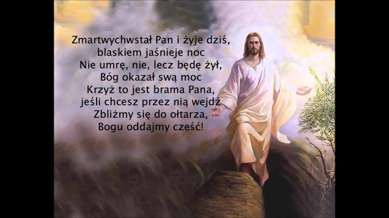 Znalezione obrazy dla zapytania zmartwychwstał pan