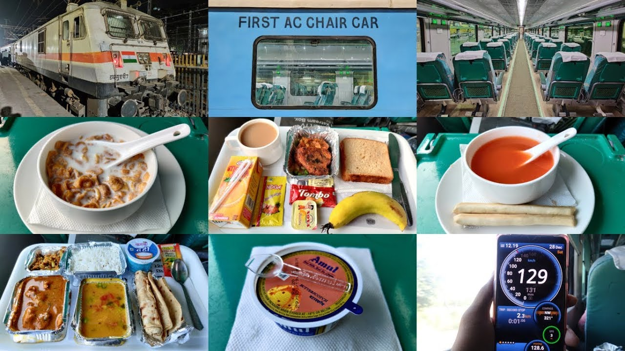 Download Mumbai To Ahmedabad : Full Journey : First Class AC Executive : 12009 MMCT - ADI Shatabdi Express