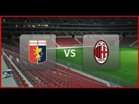 Live: AC Milan vs Genoa CF