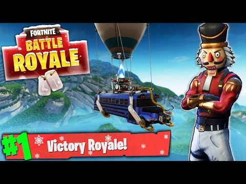 Fortnite Battle Royale WINNING SOLO GAMES! Top Player GRIND w/ NEW Holiday Update! (Fortnite LIVE) thumbnail