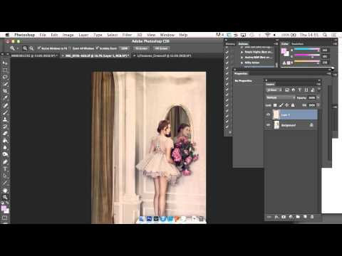 How To Apply Textures To Fine Art Portaits In Photoshop