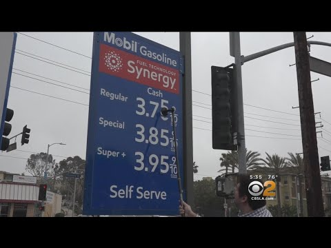Drivers Feeling Pain At The Pump As Gas Prices Reach 3-Year High