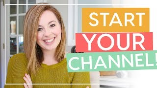 How to Start a YouTube Channel | The Beginner's Guide to YouTube Success