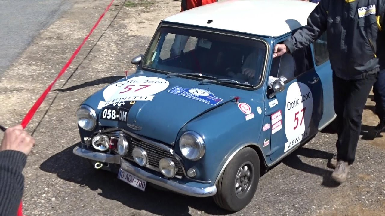 Tour Auto Optic 2000 Austin Mini Cooper S 1965 Crash Youtube