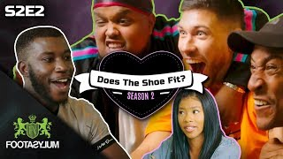 CHUNKZ, FILLY, JACK FOWLER AND PINERO DATE A VIRGIN?| Does The Shoe Fit? Season 2 | Episode 2
