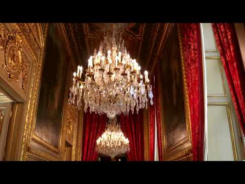 Tour of Napoleon III's Apartment at the Louvre