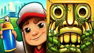iGameBox🤩Subway Surfers HD Seoul Vs.Temple Run 2 Fullscreen*Gameplay For Kid #4