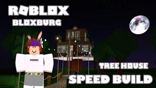 Roblox Bloxburg Treehouse Speed-Build (32K I With interior)