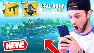 *NEW* BATTLE ROYALE MAP is here! (COD Mobile NEW SEASON)