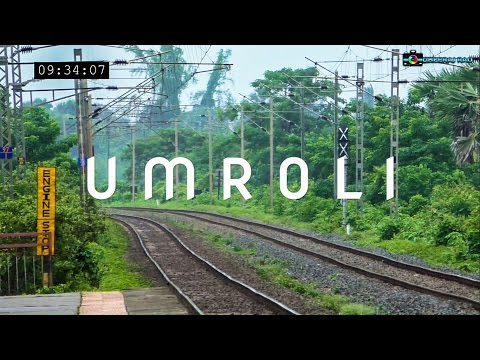 High Speed Action at Umroli: 32 Trains in 25 Minutes!