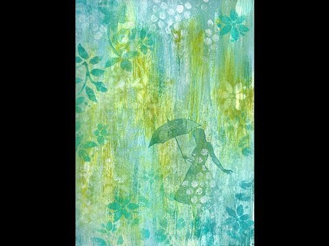 Art Journal Book of Backgrounds # 4