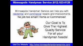 Minneapolis Handyman Service