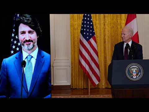 Watch U.S. President Biden's full statement after first meeting with Prime Minister Trudeau