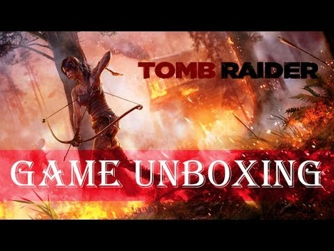 Unboxing - Tomb Raider Collector