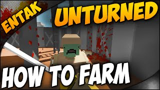 Unturned Gameplay ➤ How To Build A Farm & How To Build A Bridge - Guide Within [solo Series Part 6]