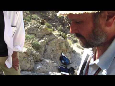 Microstructure Sampling - Geological Field Work