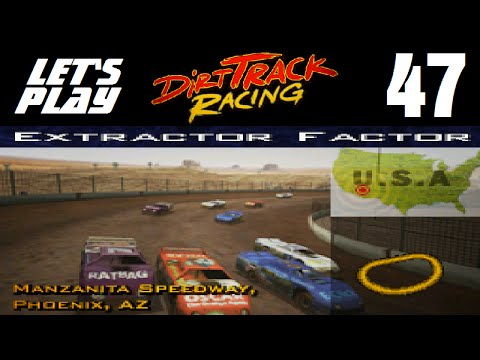 Let's Play Dirt Track Racing - Part 47 - Y5R9 - Manzanita Speedway