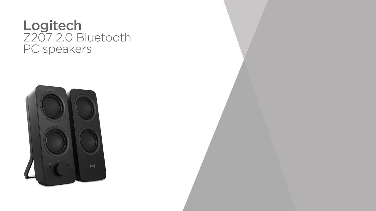 7dc5881c875 Logitech Z207 2.0 Bluetooth PC Speakers | Product Overview | Currys PC World