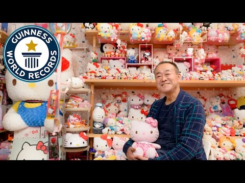 Largest collection of Hello Kitty memorabilia – Japan Tour