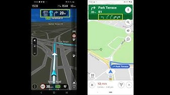 Google Maps vs TomTom - Features and Test Drive