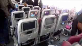 The Qatar Airways Boeing 787 Dreamliner Experience │Trip-Report