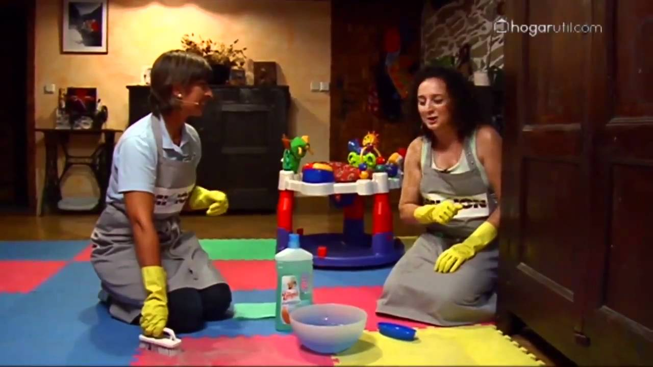 misión impecable: limpiar suelo de goma - youtube