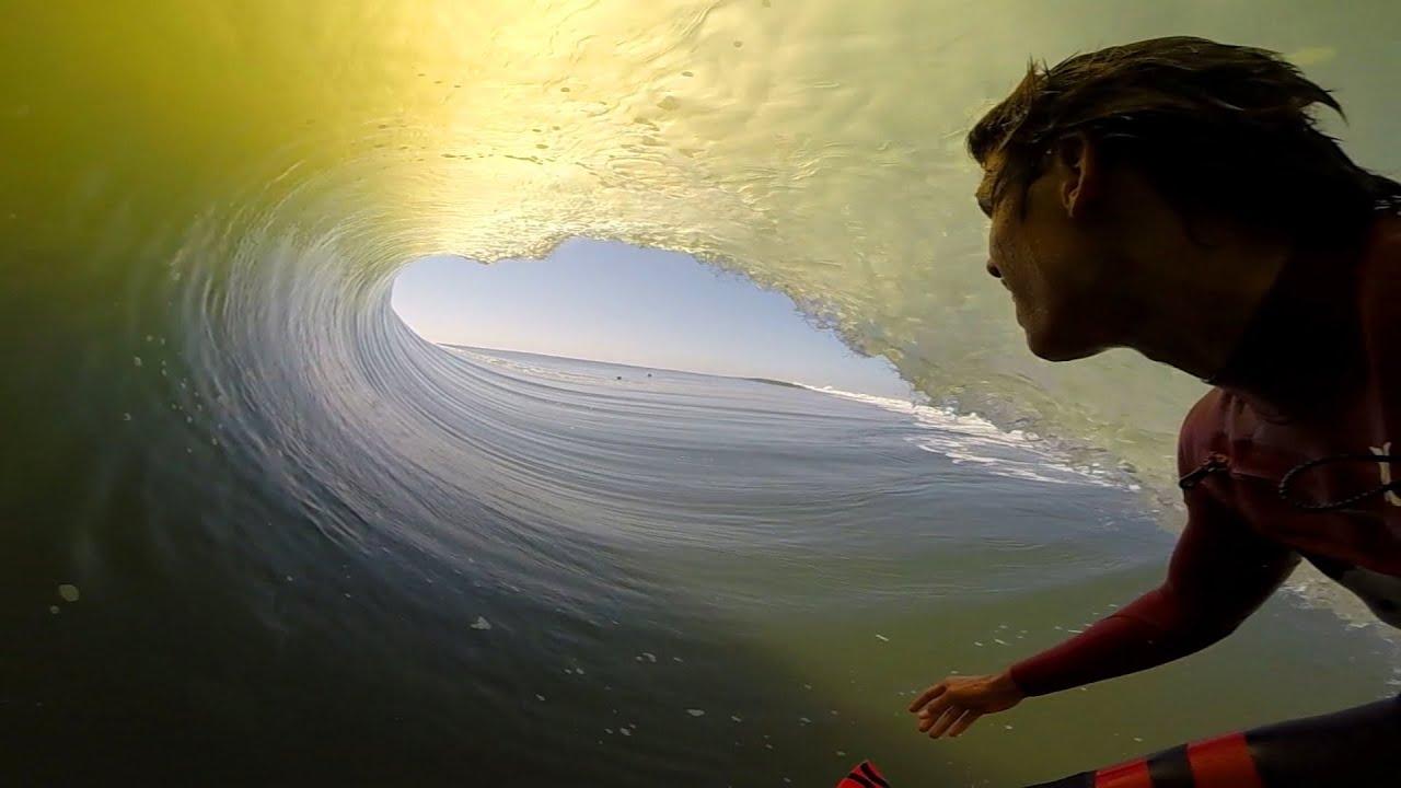 GoPro Koa Smiths Second Skeleton Barrel GoPro Of The World - Surfing inside 27 second long barrel wave