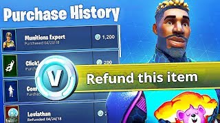 Trade Old Fortnite Skins for V BUCKS!! (NEW Fortnite Feature)