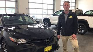 2018 Toyota Camry SE with Matthew