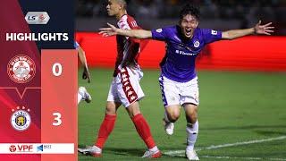 Highlights | CLB TP. HCM - Hà Nội FC | Xứng danh Siêu kinh điển bóng đá Việt Nam | VPF
