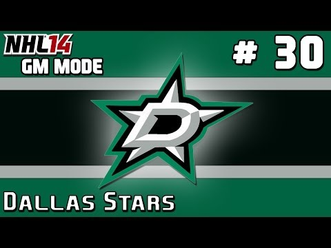 NHL 14: GM Mode Commentary – Dallas Stars ep. 30 – Goalie Controversy