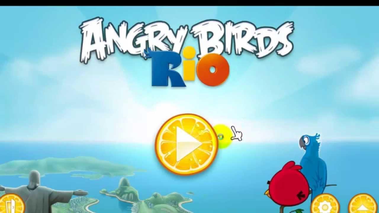 Angry Bird Rio