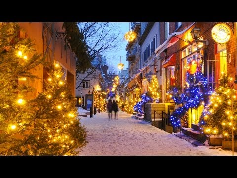 Christmas and Holiday Season in Québec City