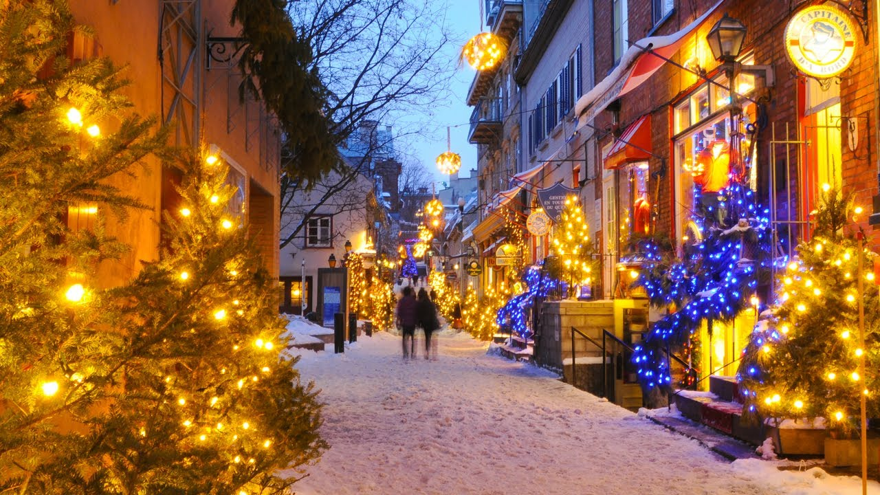 christmas and holiday season in qubec city youtube - How Does Canada Celebrate Christmas